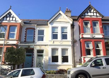 Thumbnail 3 bedroom terraced house to rent in Kingswood Park Avenue, Plymouth