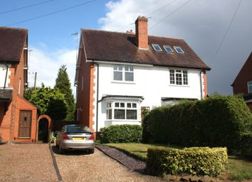 Thumbnail 2 bed semi-detached house to rent in Church Road, Webheath, Redditch