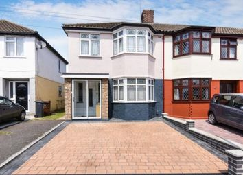 Thumbnail 3 bed end terrace house for sale in Valentines Way, Rush Green, Romford