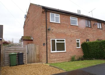 Thumbnail 1 bed semi-detached house to rent in John Davis Way, Watlington