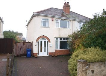 Thumbnail 3 bed semi-detached house for sale in Foston Avenue, Outwoods, Burton-On-Trent, Staffordshire