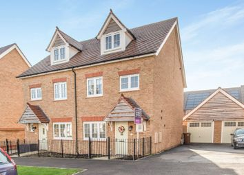 4 bed semi-detached house for sale in Germander Avenue, St Andrews Park, Halling ME2