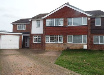 Thumbnail 4 bed semi-detached house for sale in Sharney Avenue, Langley, Slough