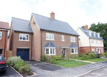 Thumbnail 4 bed detached house for sale in Churchill Way, Horsham