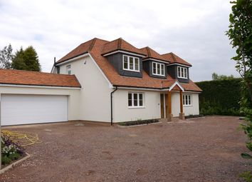 Thumbnail 4 bed detached house for sale in The Ridgeway, Cranleigh, Surrey