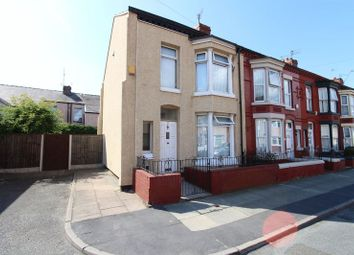 Thumbnail 3 bed end terrace house for sale in Spenser Street, Bootle