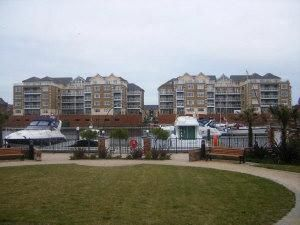 Thumbnail 2 bedroom flat to rent in Golden Gate Way, Sovereign Harbour, Eastbourne, Golden Gate Way, Sovereign Harbour, Eastbourne