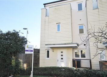 Thumbnail 4 bed end terrace house to rent in Pyle Close, Addlestone, Surrey