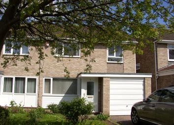 Thumbnail 3 bed semi-detached house to rent in Faversham Court, Kingston Park, Newcastle Upon Tyne