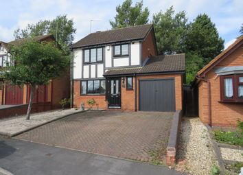 Thumbnail 3 bed detached house for sale in Bosworth Close, Dudley
