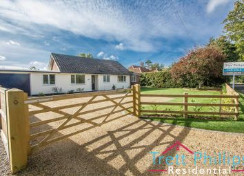 Thumbnail 3 bed detached bungalow for sale in New Road, Catfield, Great Yarmouth