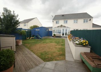 Thumbnail 4 bed semi-detached house for sale in St. Michaels Way, Roche, St. Austell