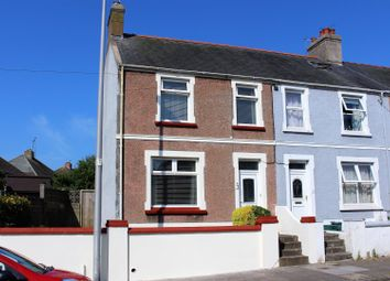 Thumbnail 3 bed end terrace house for sale in Pill Road, Milford Haven
