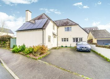 Thumbnail 4 bed detached house for sale in Werrington Drive, Callington