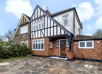 Thumbnail 3 bed semi-detached house for sale in The Ridgeway, North Harrow, Harrow, Middlesex