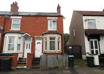 Thumbnail 3 bed end terrace house for sale in Beresford Avenue, Coventry, West Midlands