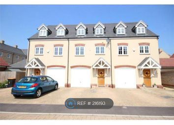 Thumbnail 4 bedroom terraced house to rent in Woodpecker Gardens, Bedford