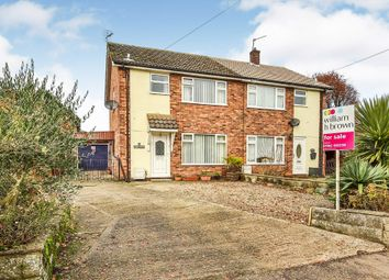 Thumbnail 3 bed semi-detached house for sale in High Street, Shipdham, Thetford