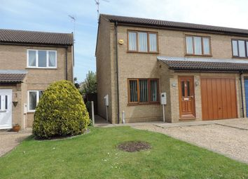 Thumbnail 3 bed semi-detached house to rent in Foxglove Road, Stamford, Lincolnshire