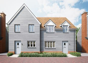 Thumbnail 2 bedroom semi-detached house for sale in Mill View, London Road, Great Chesterford, Saffron Walden