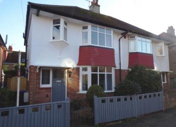 Thumbnail 3 bed semi-detached house for sale in Ethelwulf Road, Worthing, West Sussex