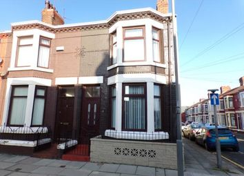 Thumbnail 3 bed end terrace house for sale in Cowley Road, Walton, Liverpool, Merseyside