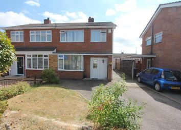 Thumbnail 3 bed semi-detached house for sale in Lundy Close, Hinckley
