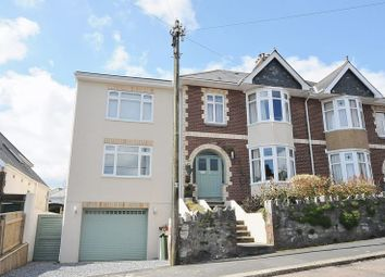 Thumbnail 5 bed semi-detached house for sale in Culme Road, Mannamead, Plymouth