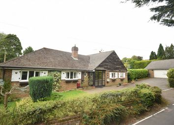 Thumbnail 4 bed detached bungalow for sale in Stone Street Road, Ivy Hatch, Sevenoaks, Kent