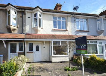 Thumbnail 3 bed terraced house for sale in Shandon Road, Broadwater, Worthing, West Sussex