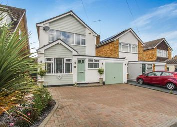 Thumbnail 3 bed detached house for sale in Highcliffe Close, Wickford, Essex