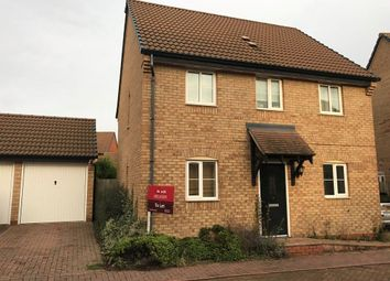 Thumbnail 3 bed property to rent in Sprigs Road, Hampton Hargate, Peterborough