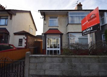 Thumbnail 3 bed semi-detached house for sale in Snowdon Road, Tranmere, Birkenhead