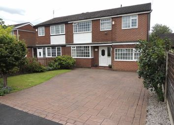 Thumbnail 4 bedroom semi-detached house for sale in Marple Road, Offerton, Stockport