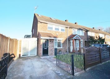 Thumbnail 3 bed end terrace house for sale in Corve Lane, South Ockendon