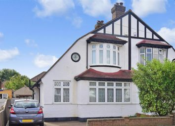 Thumbnail 3 bed semi-detached house for sale in Stoneleigh Park Avenue, Shirley, Croydon, Surrey