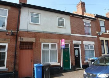 Thumbnail 3 bedroom terraced house to rent in Moss Street, Derby