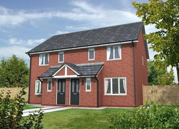 Thumbnail 3 bed semi-detached house for sale in Chatsworth Park, Off Rope Lane, Shavington