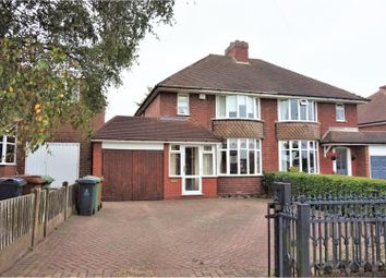 Thumbnail 2 bedroom semi-detached house for sale in Lazy Hill Road, Walsall