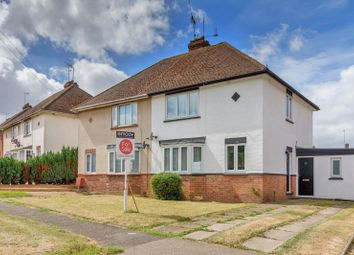 Thumbnail 2 bed semi-detached house for sale in Chestnut Crescent, Bletchley, Milton Keynes