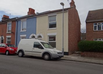 Thumbnail 3 bed end terrace house to rent in Brompton Road, Southsea