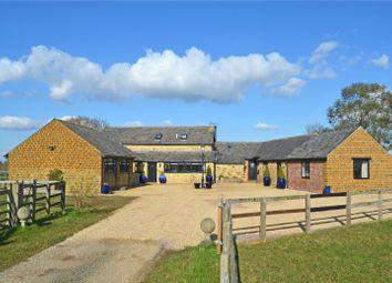 Thumbnail 5 bed barn conversion for sale in Maidford, Towcester, Northamptonshire