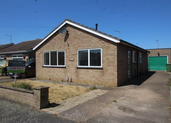 Thumbnail 2 bed detached bungalow for sale in Mallard Close, Whittlesey, Peterborough