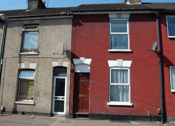 Thumbnail 2 bed terraced house for sale in Thorold Road, Chatham