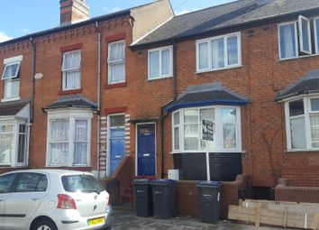 Thumbnail 1 bed terraced house to rent in Newton Road, Sparkhill, Birmingham
