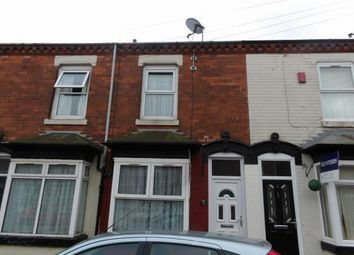 Thumbnail 2 bedroom terraced house for sale in Wood Green Road, Birmingham, West Midlands