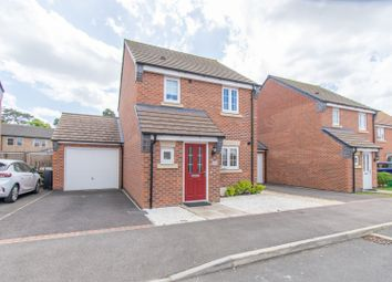 Thumbnail 3 bed detached house for sale in Heatherley Grove, Wigston