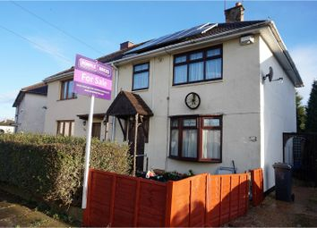 Thumbnail 3 bedroom semi-detached house for sale in Bringhurst Road, New Parks