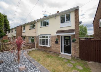 Thumbnail 3 bed semi-detached house for sale in Oxengate, Arnold, Nottingham