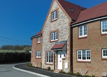 Thumbnail 3 bed terraced house for sale in Farwell Crescent, Chickerell, Weymouth